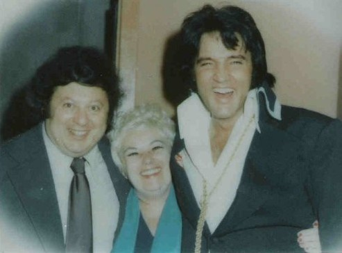 marty Allen with Elvis