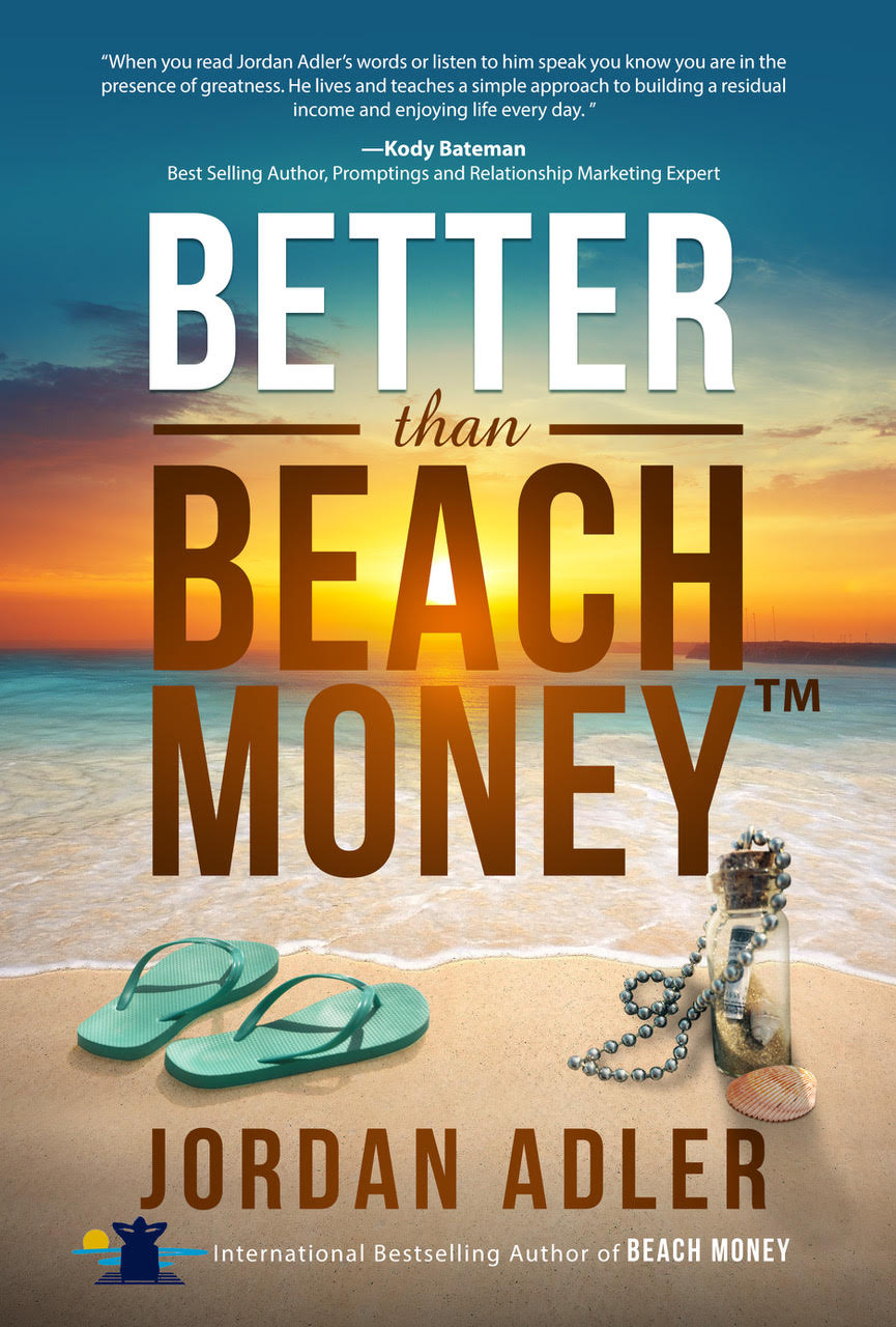 better than beach money book by jordan adler